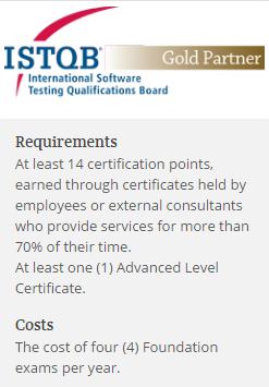 ISTQB-Gold Partner